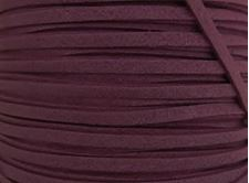 Picture of 3x1,2 mm, Ultra suede synthetic lace, purple