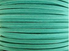 Picture of 3x1,2 mm, Ultra suede synthetic lace, turquoise green