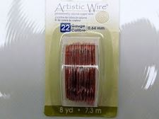 Picture of Artistic Wire, copper craft wire, 0.64 mm, natural copper