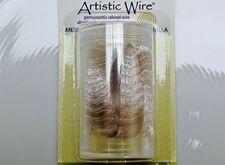 Picture of Artistic Wire, copper wire, tubular mesh, 10 mm, silver-plated