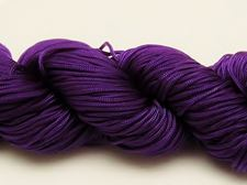 Picture of Chinese knotting cord - braided nylon cord, 0.8 mm, purple