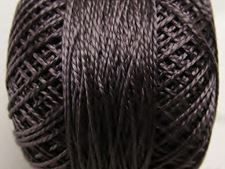 Picture of Pearl cotton, size 8, dark grey, shiny