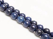 Afbeelding van 8x8 mm, rond, edelsteen kralen, lapis lazuli, A+-klasse