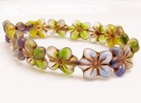 Picture for category Czech Druk Beads - Flowers, Melons and Leaves