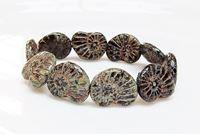 Afbeelding voor categorie Tsjechische geperste glaskralen - platte ovalen en nautilus vormen