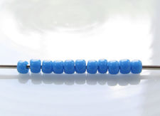 Picture of Japanese seed beads, Toho, size 11/0, cornflower blue, opaque